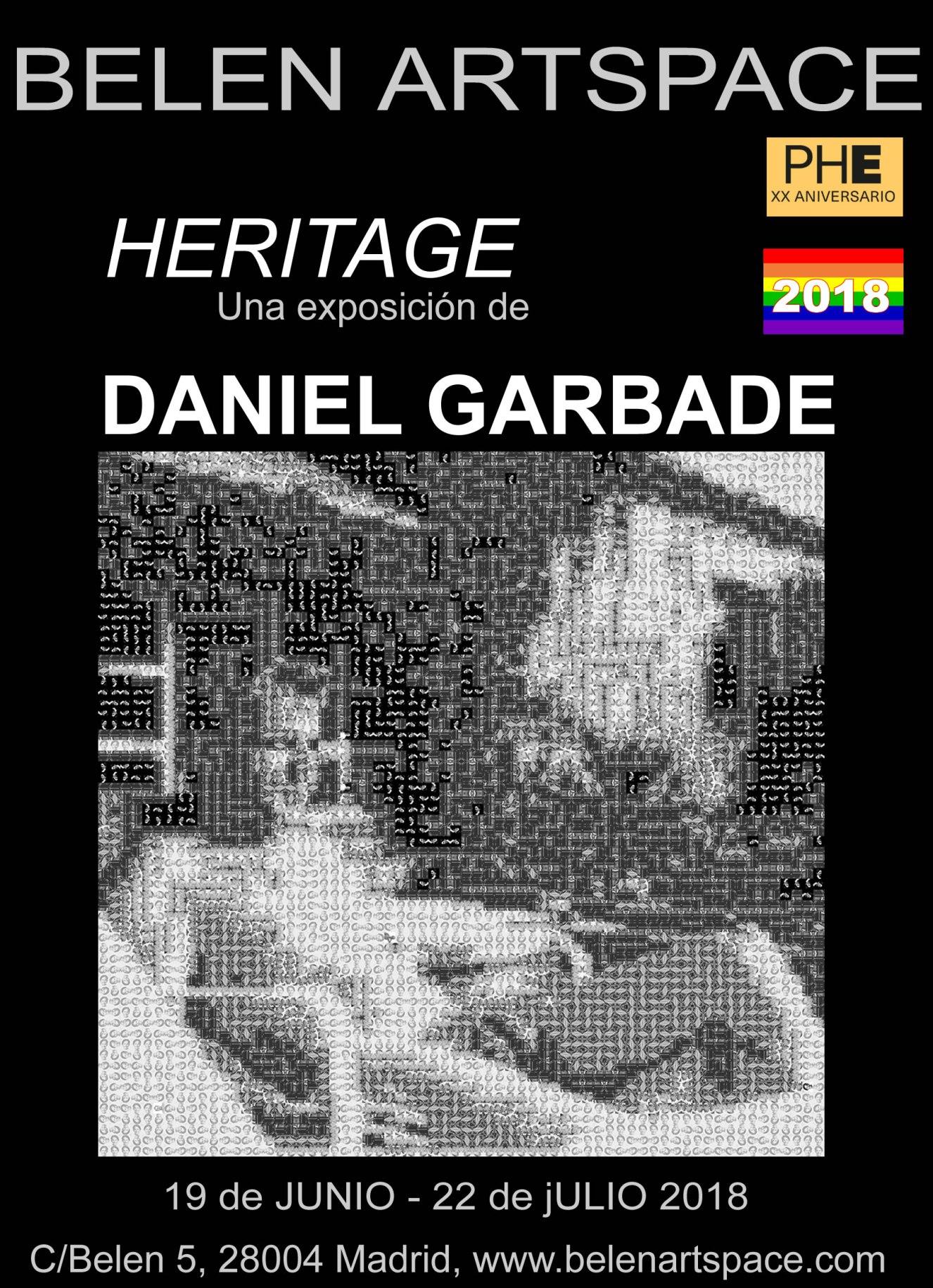 Photo España,heritage,Daniel,Garbade,Belen Artspace,Cartell, orgullo 2018,belen artspace,