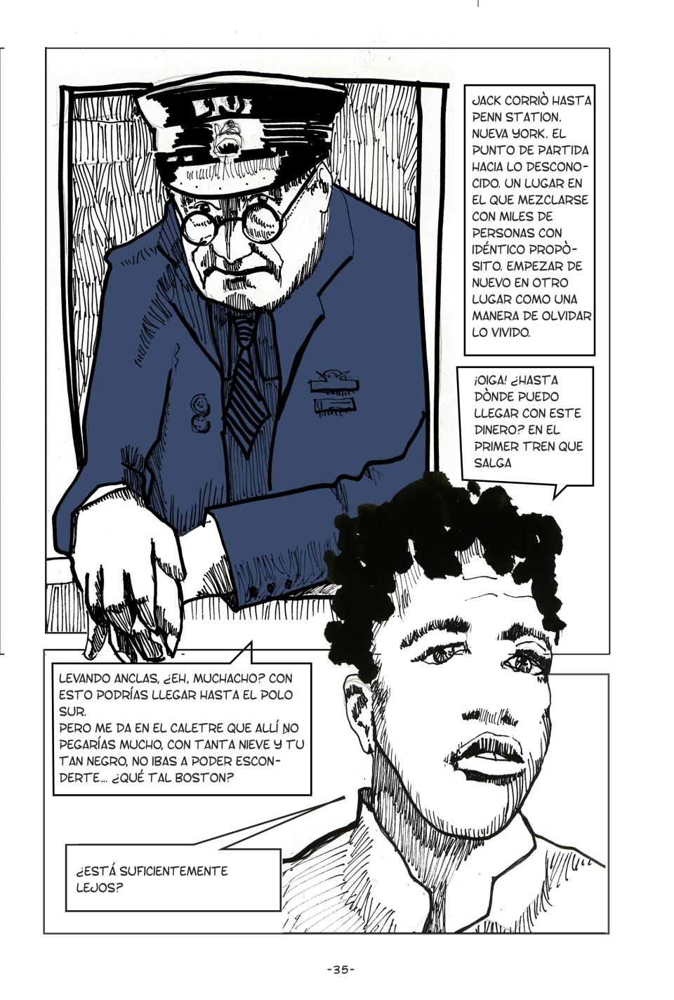 Jack Johnson,jose parra moreno, belen, comic,la gran esperanza negra